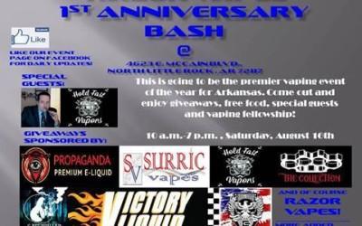1st Year Anniversary Bash