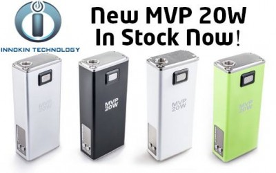 ARRIVING TODAY AT ALL LOCATIONS. THE NEW 20WATT MVP