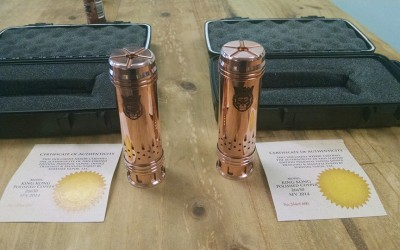 Copper Surefire King Kong's 26650 with battery….$179.95 Only