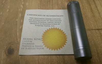 Custom Surefire King Mods $184.95